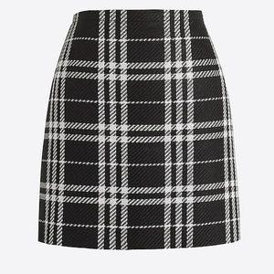 J. Crew Plaid Mini Skirt